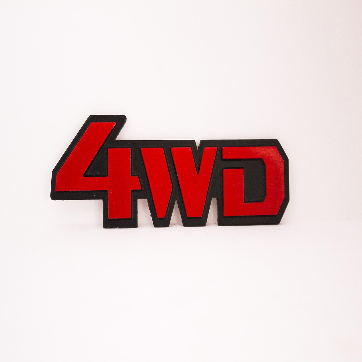 4WD Metal Logo Batch for Cars