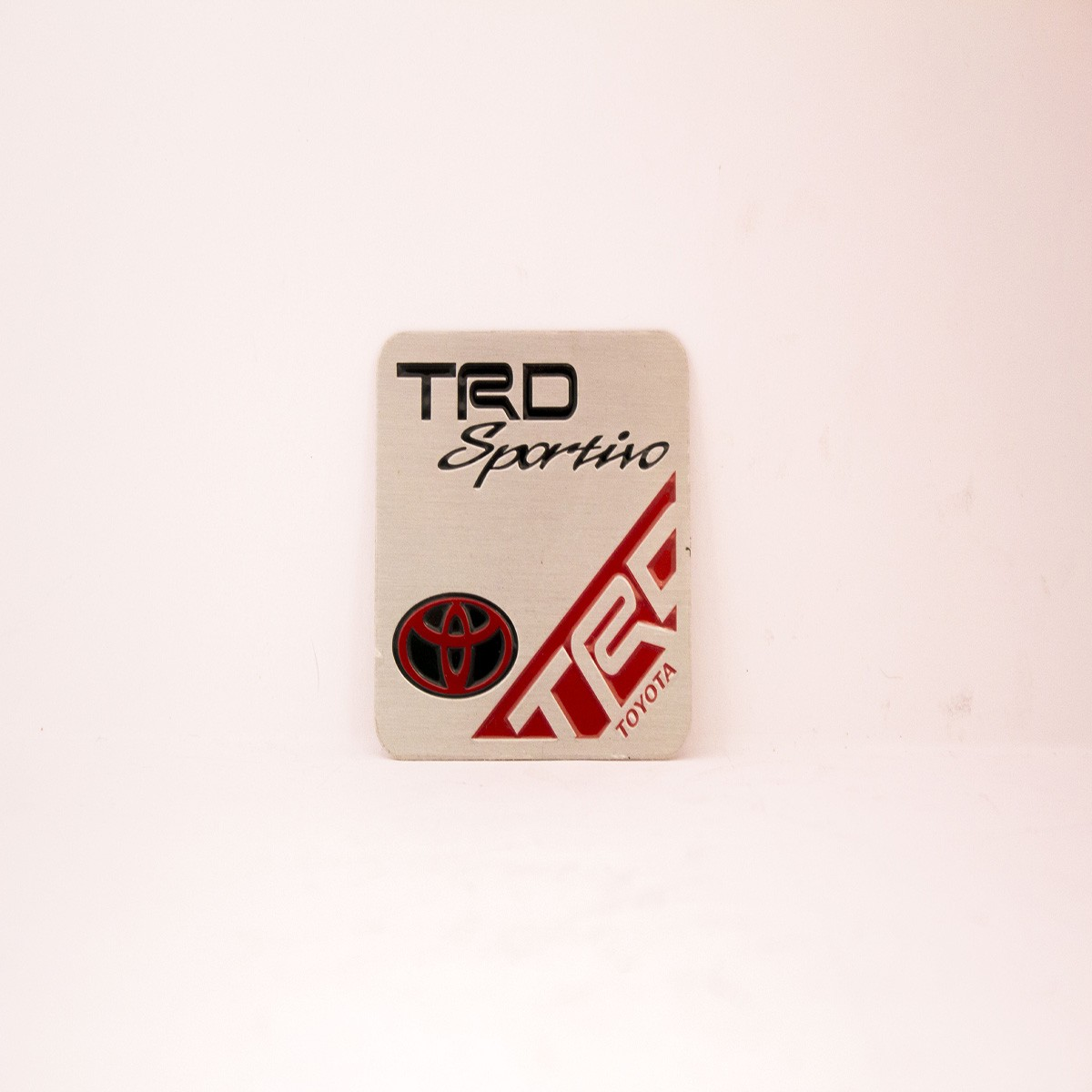 TRD Sportino Metal Logo Batch for Cars
