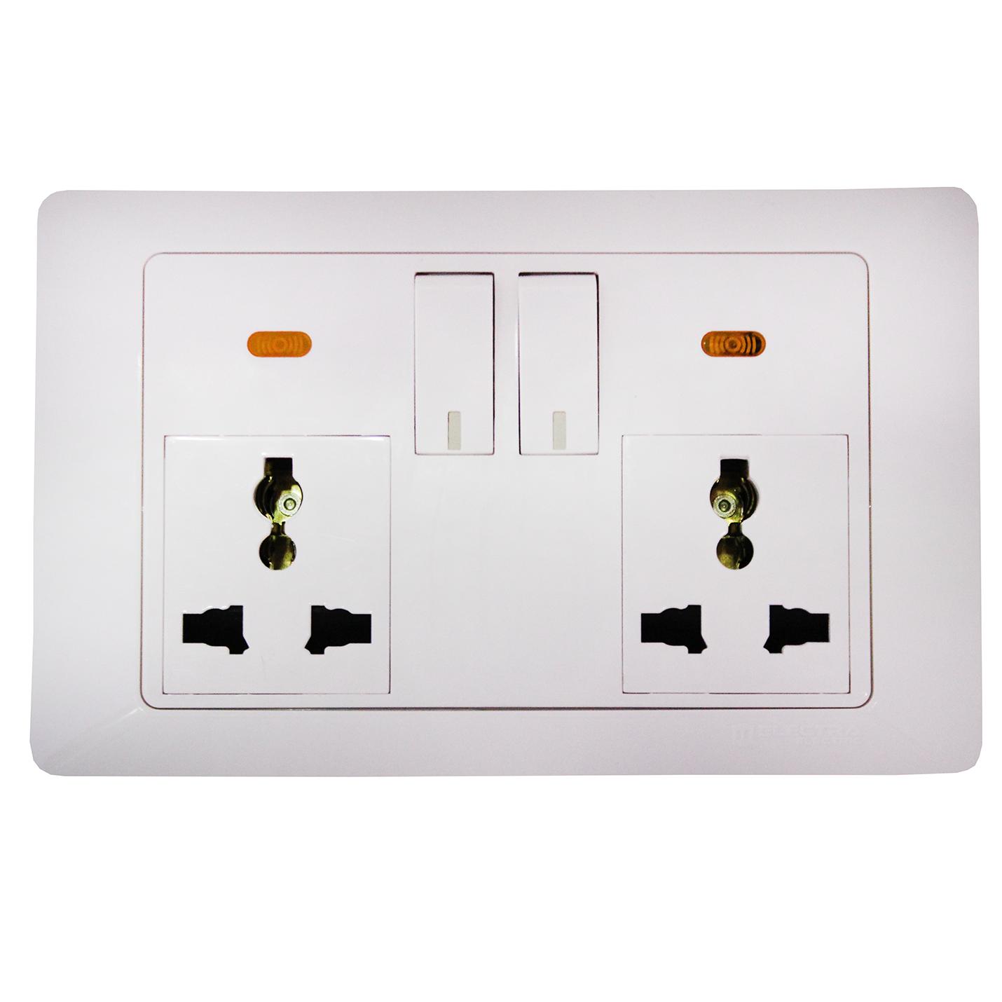 Electra Socket (Double power socket)