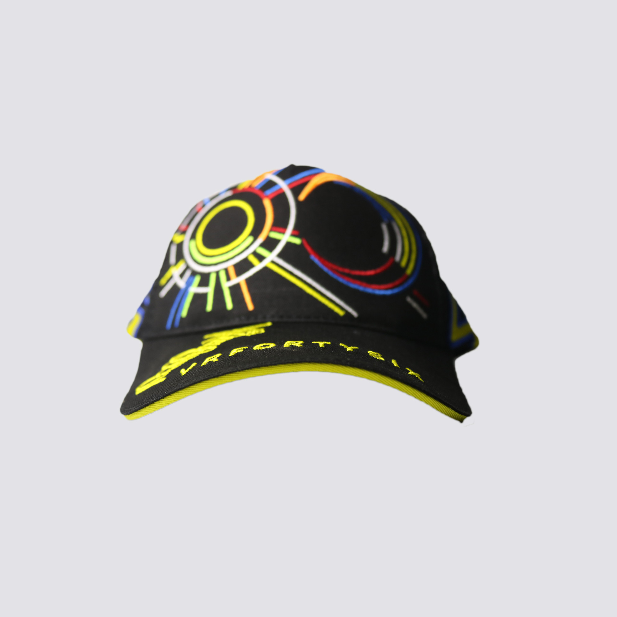 Snap Back Cap - VR46 (Black and Yellow)