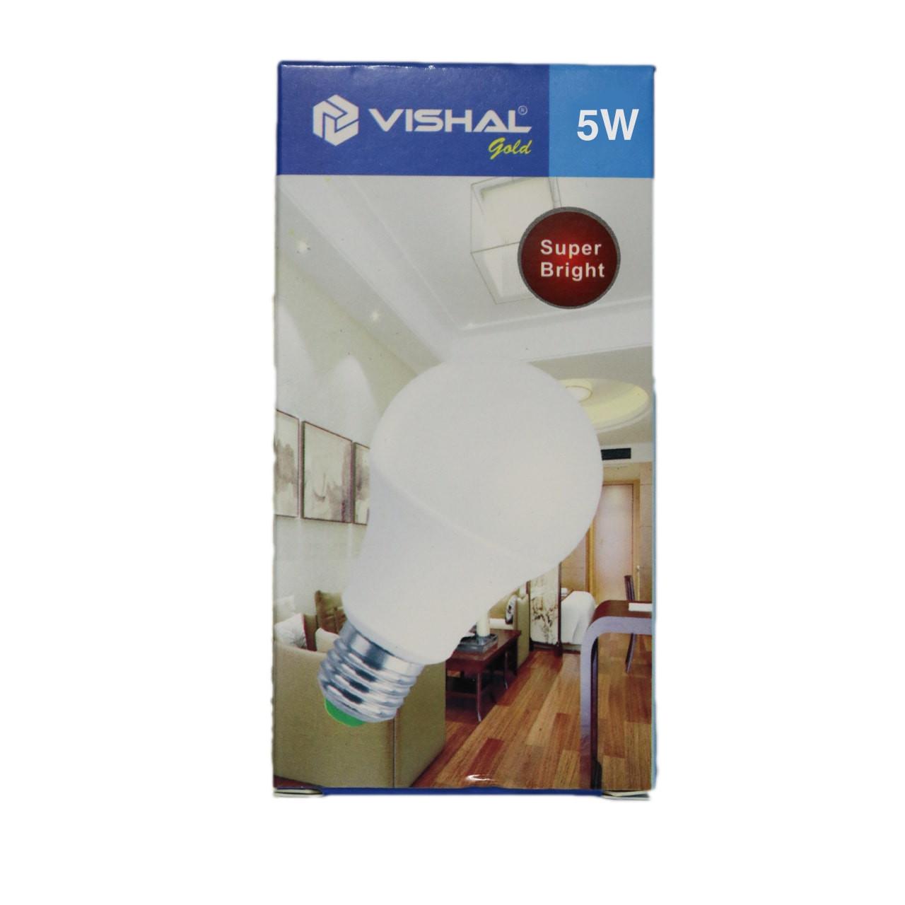 5 Watt Vishal Bulb (B22)