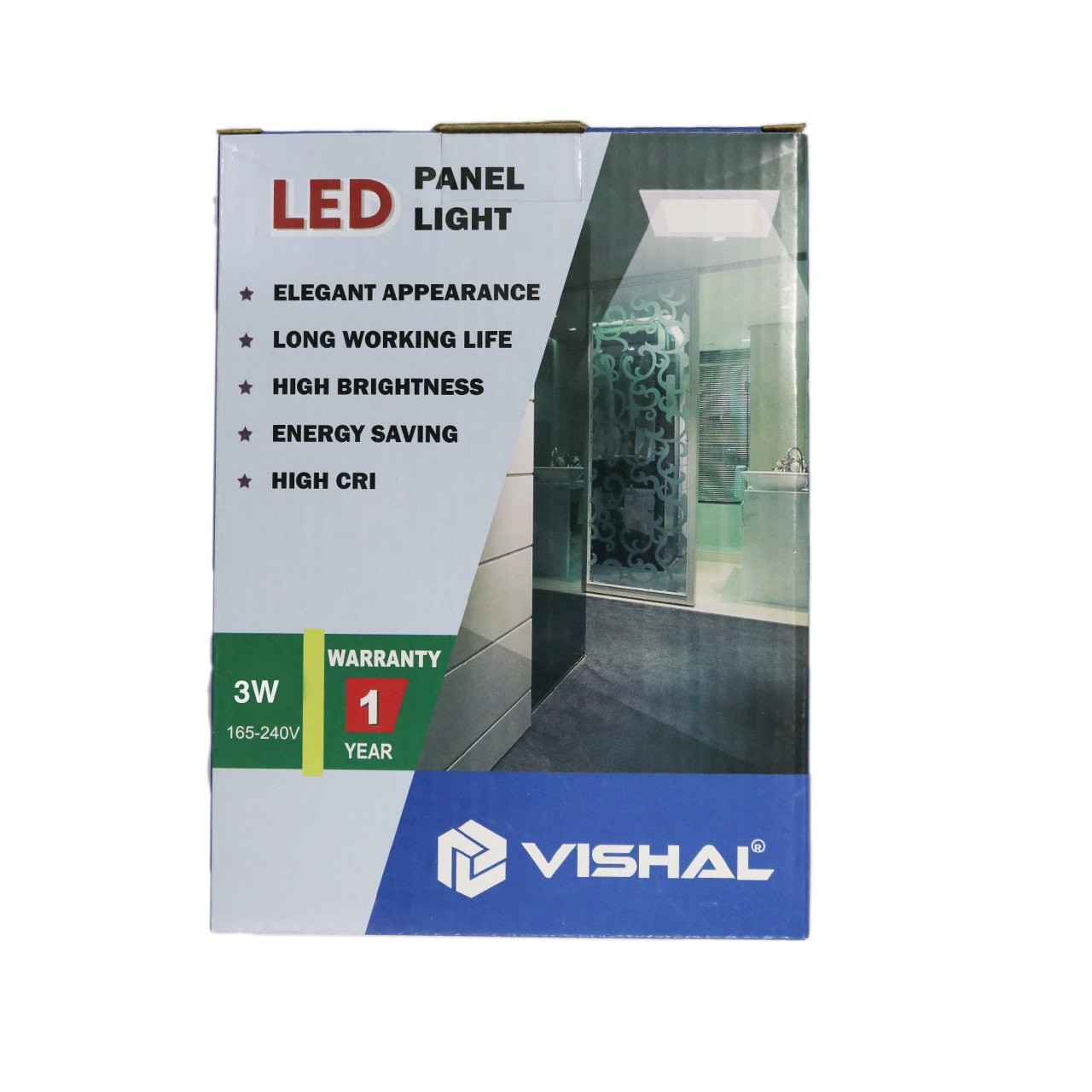 3 Watt Vishal Panel Light – Conceal (Circle)