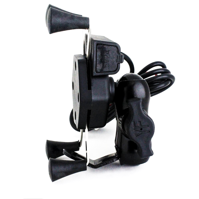 Universal mobile Phone holder with Charger