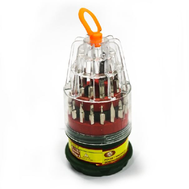 31 –IN-1 ELECTROc SCREWDRIVER SET (Large)
