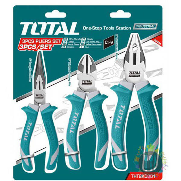 Total 3 Pcs Plier  Set (THT2K0301)
