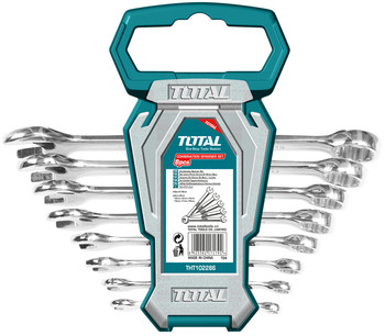 Total 8pcs ratchet and spanner set THT02RK085