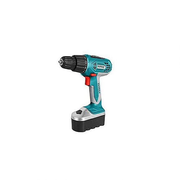 Total Tool TD318106 Cordless drill 18V Cordless Drill Driver Compact Lightweight