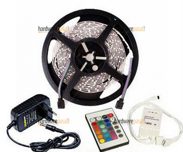 5 meter strip Light RGB colour remote control