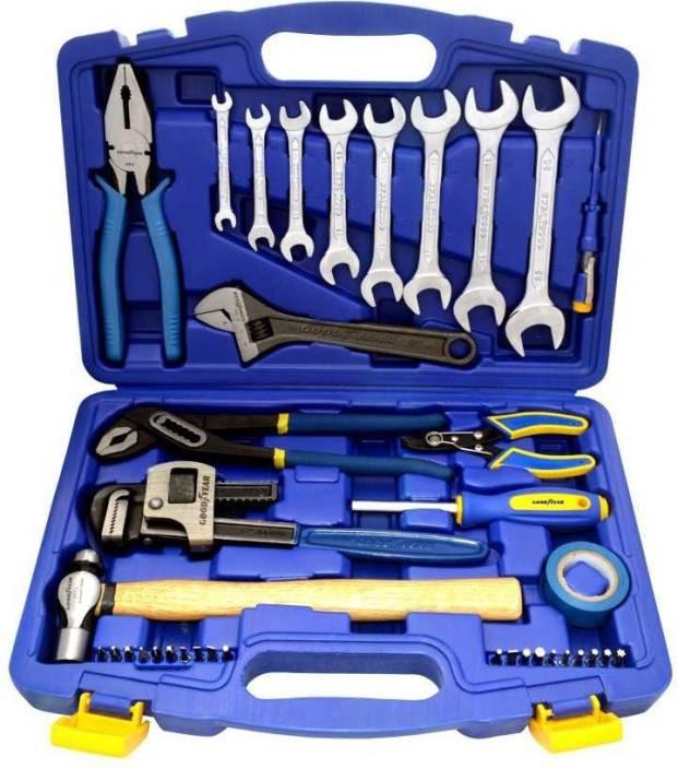 GoodYear GY10663 38 Pcs Workshop Tool Kit