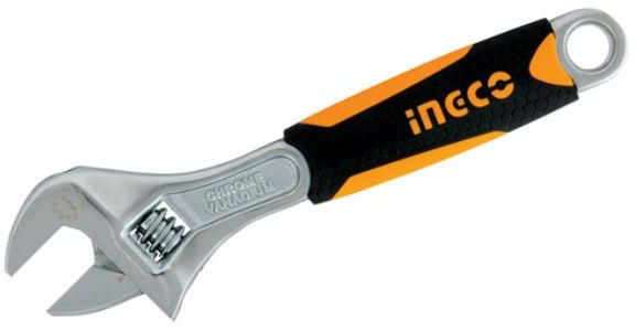 "Ingco 10"" Adjustable wrench HADW131108"
