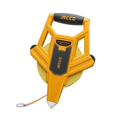 Ingco 50mx12.5mm Fiberglass measuring tape HFMT8250