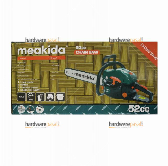"""Meakida 22"""" (550mm) Gasoline Chain Saw  MD-9016A"""
