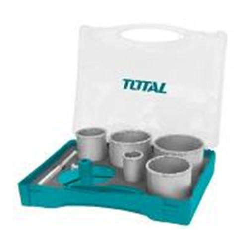 Total Carbide Gritted Hole Saw Set TACH2071