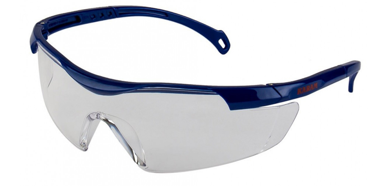 Karam Clear Lens Safety Goggles ES015
