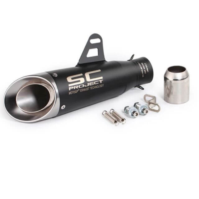 SC Project Cambon Print Exhaust- Black Silencer