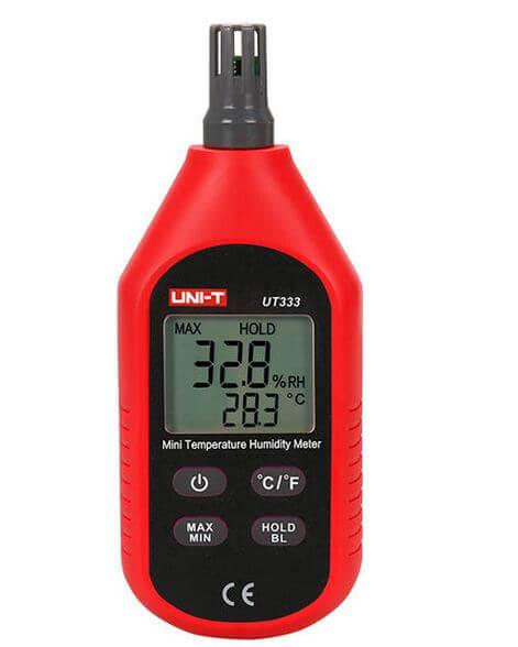UNI-T Mini Temperature and Humidity Meters UT333