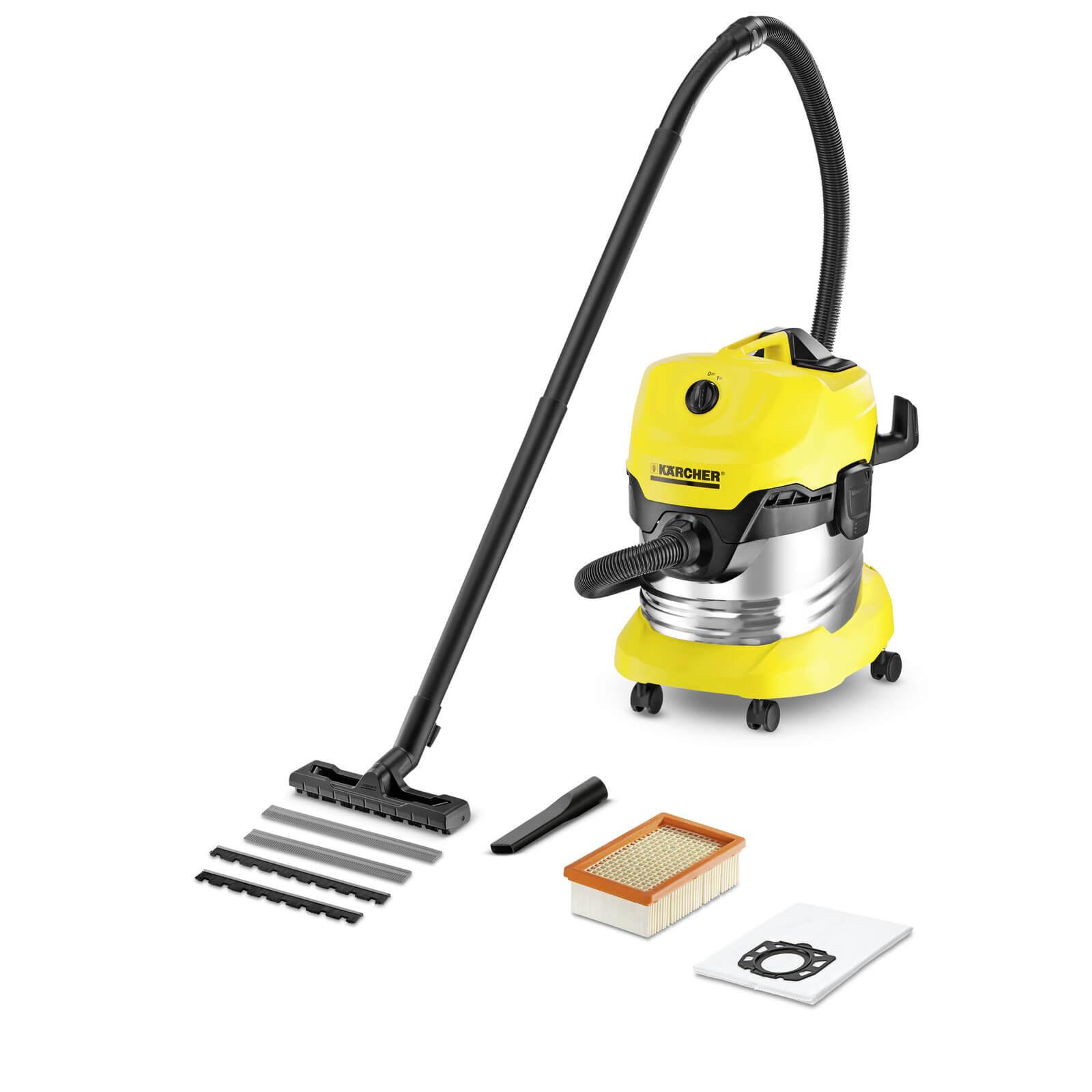 KARCHER 1000Watt Multi Purpose Vacuum Cleaner- WD 4 Premium