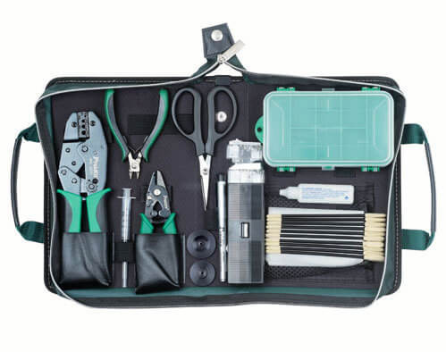 Proskit 8Pcs Fiber Optic Tool Kit 1PK- 940KN
