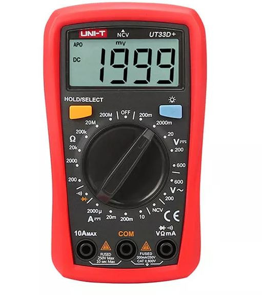UNI-T Digital Multimeter UT33D+