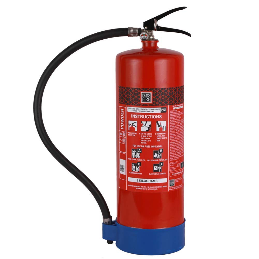 ABC 9KG Dry Powder Fire Extinguisher Fireshield PRO