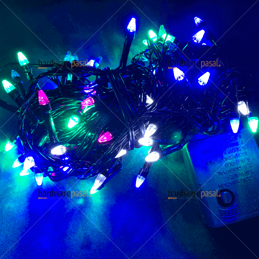 100 Led Multi Coloured Rocket